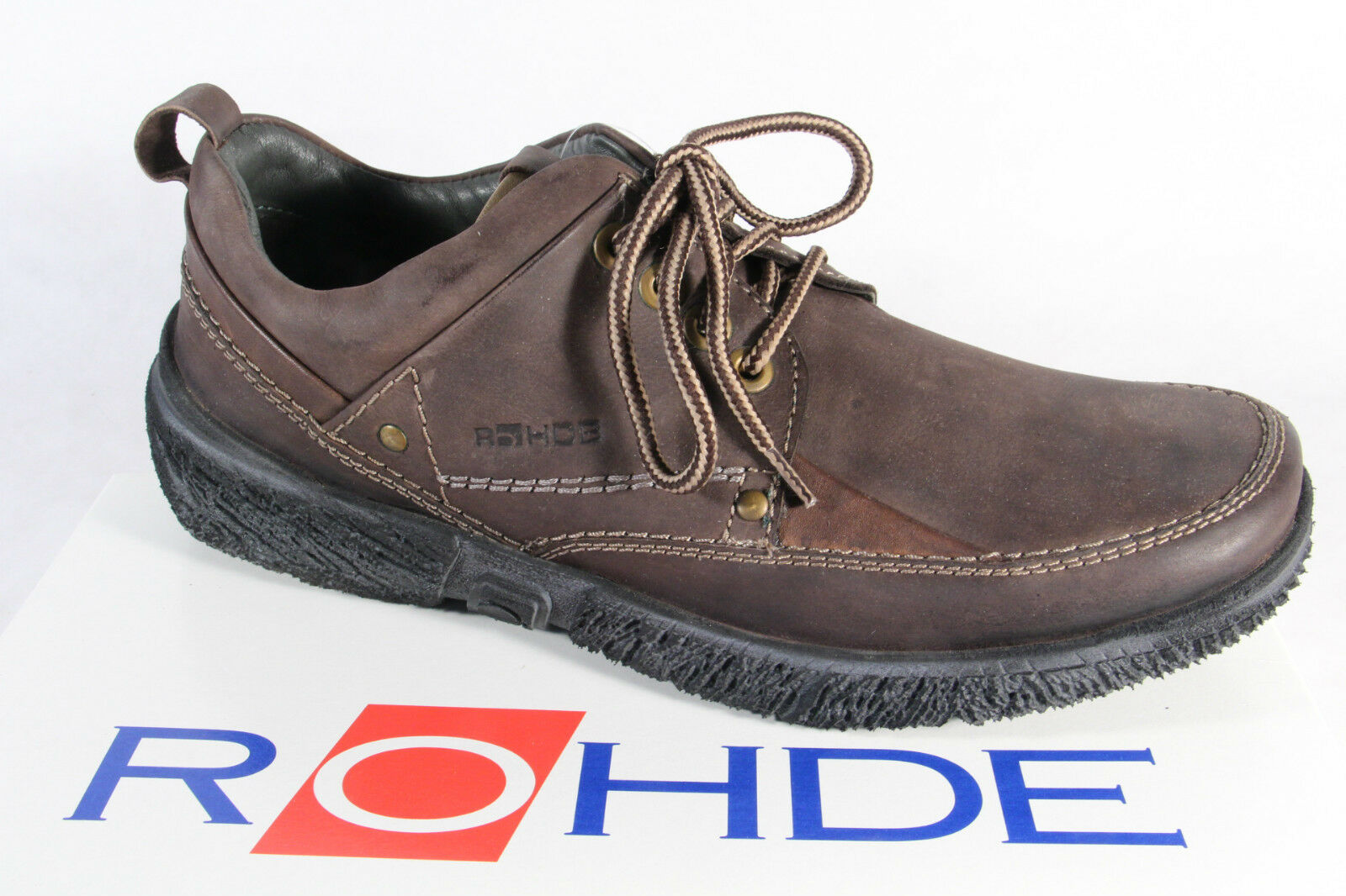Rohde Lace-Up Loafers Sneaker Brown New