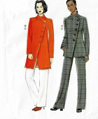 NIP Very Easy Vogue 944 9274 Womens Asymmetrical Jacket /& Straight Pants A5 6-14