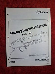 Crosman-761XL-Service-Manual-With-Exploded-View