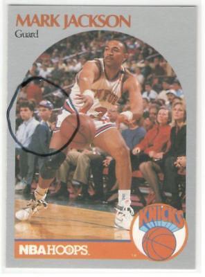 Menendez Brothers 1990 91 Hoops Mark Jackson 205 Creepy Killer Card Super Hot Ebay
