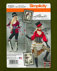 Simplicity 1301 Misses/' Costumes     Sewing Pattern