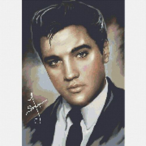 Full Drill 5D Diamond Painting Elvis Cross Stitch Kits Embroidery Home Mural New
