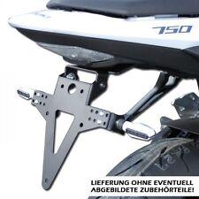 Soporte de matrícula Suzuki GSR 750 C5 L1/L2/L3/L4,ajustable,ajustable tail tidy