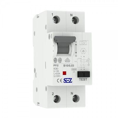 Dynamisch Sez Fi/ls B10 30ma 2p 10ka Rcbo Vde Fi/ls-schalter 0090611 Kombi Schalter 0110 Eine VollstäNdige Palette Von Spezifikationen