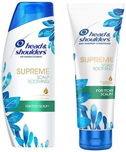 Head & Shoulders Supreme Scalp Soothing Shampoo (340ml) + Conditioner (180ml)