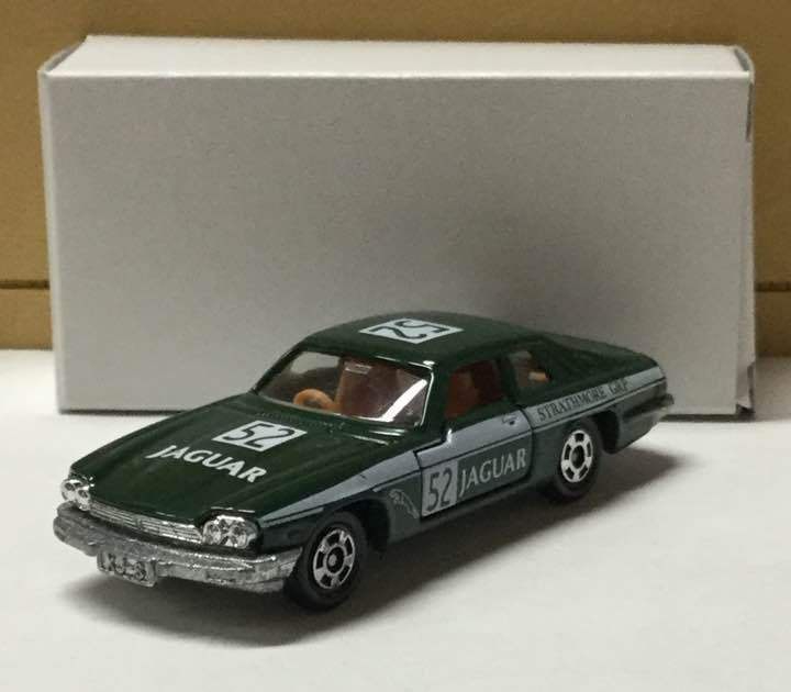 Tomica Jaguar XJ-S Group A Red Box Foreign Car Series TWR Vintage Rare