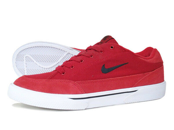 Nike SB ZOOM GTS Gym Red Nero White Casual Skate Discount (611) Uomo Shoes