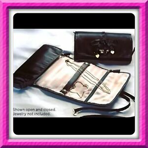quality design ceb2e 4fff4 VICTORIA'S SECRET FOREVER ANGEL LUXE JEWELRY ROLL TRAVEL CASE BAG ...