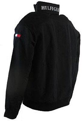 New With Tag TOMMY HILFIGER mens Jacket size-Medium, M, Black, Full Zip, Hood