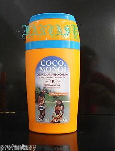 COCO-MONOI-SOLARI-CREMA-SOLARE-VISO-CORPO-MEDIA-PROTEZIONE-SPF-15-ML-200