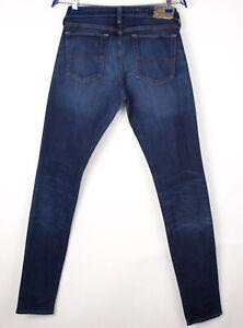 Ralph Lauren Herren Slim Jeans Stretch Größe W30 L34 ASZ372
