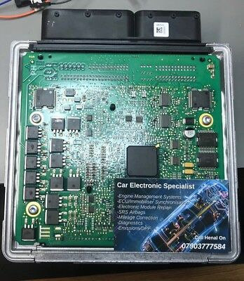 BMW N43 MSD80 2 30BA or 30BB Fault Code DME ECU Repair Service London | eBay