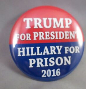 "Pin 01 Anti Donald Trump Button /""Miss Me Yet ?/"" 2017 Barack Obama 3/"""