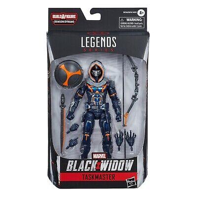 Marvel Legends TASKMASTER Black Widow Wave Crimson Dynamo BaF