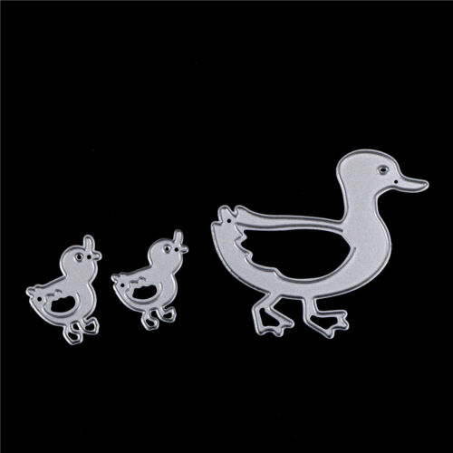 3x ducks cutting dies stencils scrapbook paper cards craft embossing die-cuBIUS