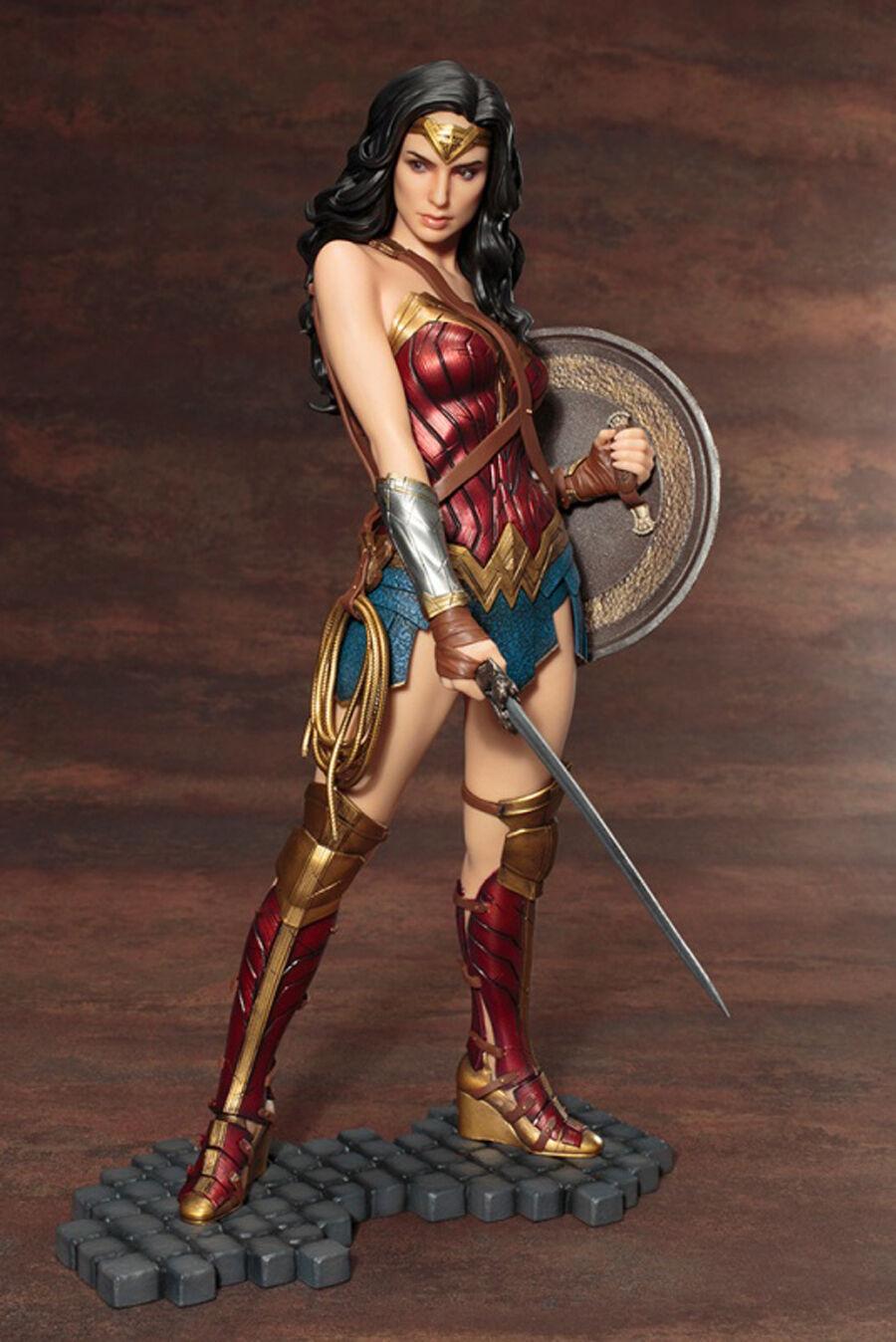 Wonder woman 2017 prinzessin diana abbildung modell harz kit unlackiert unassemble 1   6