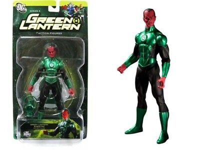 "Green Lantern Sinestro 7/"" Figure Series 4 Yellow Corps DC Comics New MOC Mint"