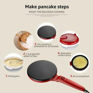 New-Kitchen-Cooking-Electric-Crepe-Maker-Pancake-Tool-Non-stick-Griddle-Machine
