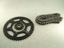 Triumph Tiger 800 XC #6026 Front & Rear / Counter Shaft Sprocket & Chain OEM