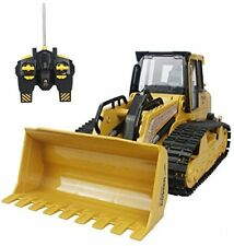 Hugine RC Bulldozer 5 Channel Full Function Crawler Remote Control Bulldozer