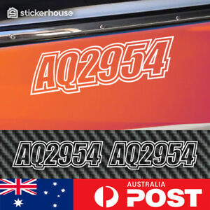 2-x-Boat-Rego-Stickers-Decals-150mm-High-Registration-Letters-Numbers-Marine
