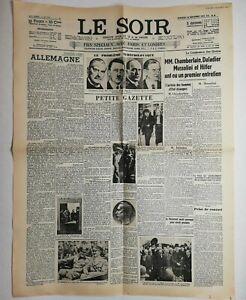 N606-La-Une-Du-Journal-Le-Soir-30-septembre-1938-chamberlain-daladier-Mussolin