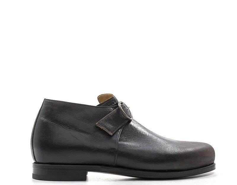shoes BIBLIOTEK Homme brown Cuir naturel ONDATM