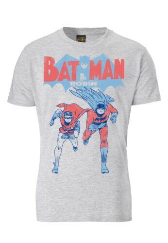 Batman t-shirt-robin t-shirt-BD-Gris Chiné-ORIGINAL marque tracteur ®