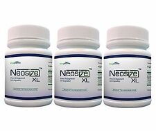NeoSize XL 3 Month Supply Male Enhancement Pills Penis Enlargement NeoSizeXL