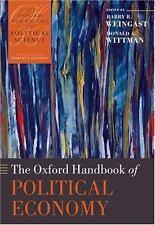 The Oxford Handbook of Political Economy (Oxford Handbooks of Political Science)