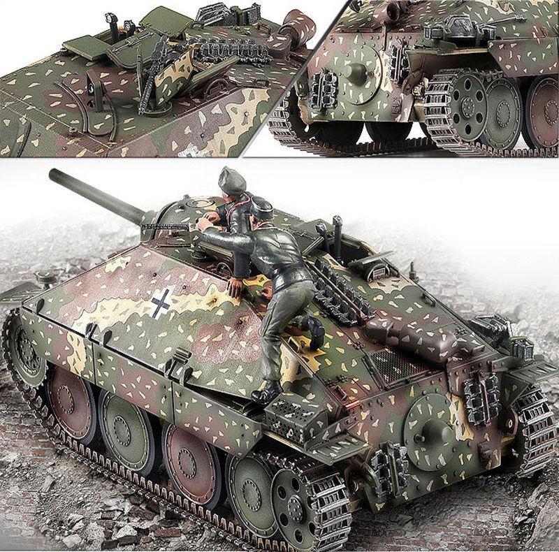 Hobby365 New 1 35 Jagdpanzer 38(t) Hetzer  Late Production Ver Model Kit