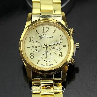 Watch Womens Quartz Fashion Wrist Analog Stainless Steel Crystal Ladies Luxury