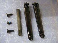 Black United Bmx Supreme V3 Cranks Black 175mm