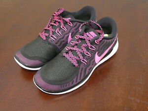 Details about Nike Damenns Free 5.0 sneakers new schuhe 724383 006 black pink