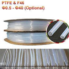 Clear Ptfe Amp F46 Heat Shrink Tubing Heatshrink Tube High Temp Variou Size Rohs