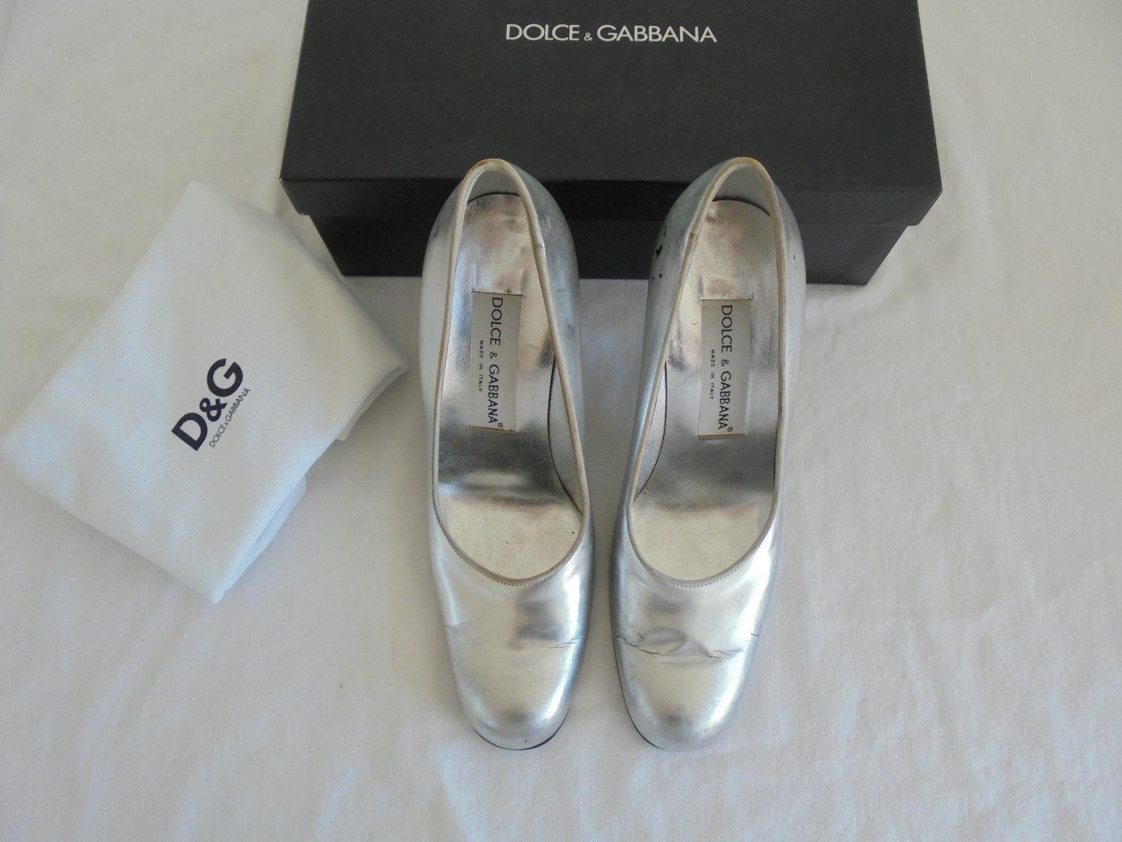 amp;g Np Scarpe Gabbana Lusso D amp; In Pelle Décolleté Alto Tacco Dolce wxqzp8