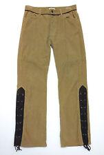 MOSCHINO VINTAGE '80 Pantaloni Uomo Velluto Velvet Man Pant W33 - Sz.46