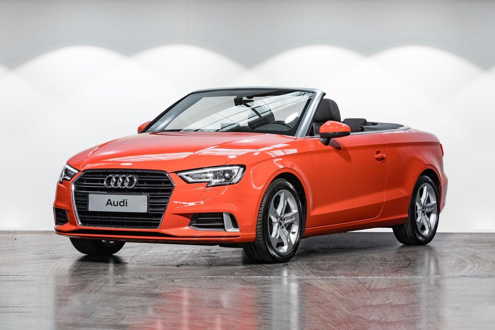 Audi A3 1,5 TFSi 150 Sport Cabriolet S-tr. 2d - 339.900 kr.