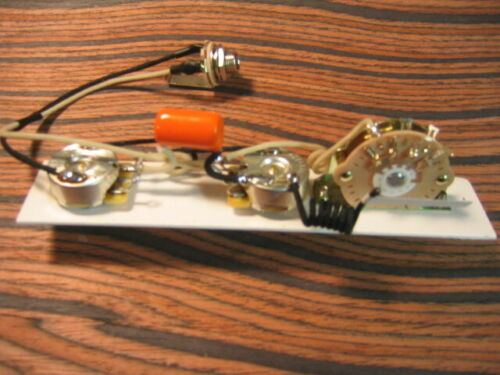 Wiring Harness for Telecaster 5-Way Deluxe Nashville for 3 Pickups