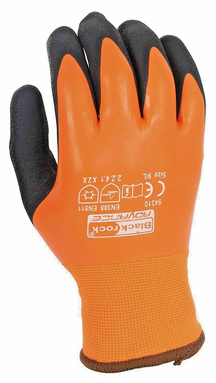1 of Pair Blackrock Watertite Waterproof Thermal Safety Work Grip Gloves (54310)