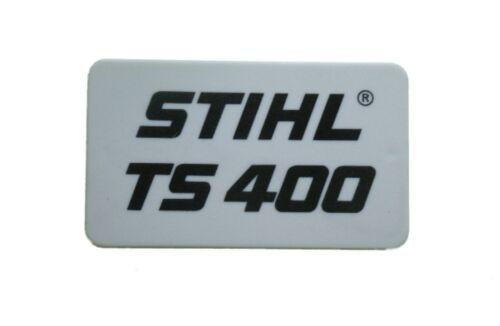 Typenschild für Stihl TS 400