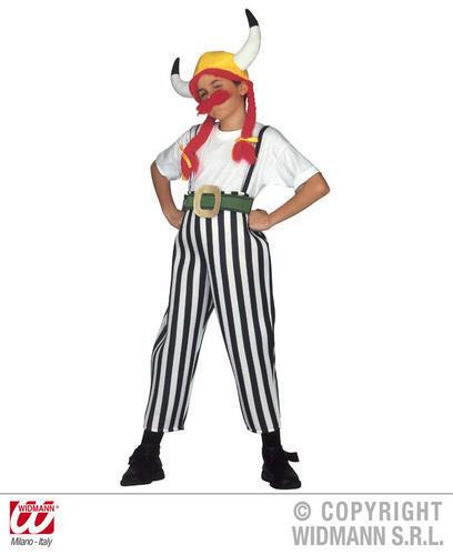 Childrens Obelix da ASTERIX Costume francese Vestito 158Cm