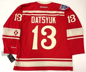 huge selection of 877ea 787ed Image is loading PAVEL-DATSYUK-2014-WINTER-CLASSIC-DETROIT-RED-WINGS-