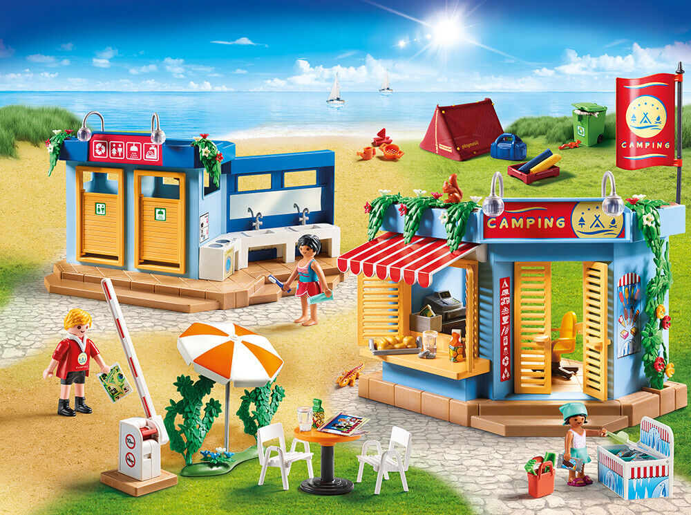 PLAYMOBIL® 70087 70087 70087 Large Campsite - NEW 2019 - S&H FREE WORLDWIDE 50b0fb