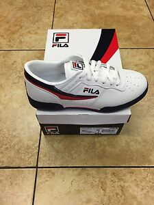 Image is loading FILA-ORIGINAL-FITNESS-LOW-WHITE-NAVY-RED-MEN- ccaa4b54d