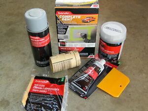 3m Bondo Complete Dent Repair 8 Piece Kit Sandpaper Putty Filler Hardener Primer Ebay