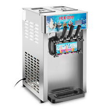 TOP 3 Flavor Commercial Frozen Ice Cream Cones Machine Soft Ice Cream MachineTOP