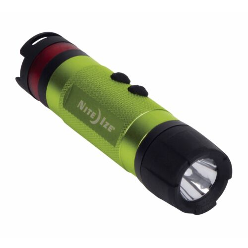 Nite Ize Radiant 3-in-1 LED Mini Flashlight Lime Green Aluminum Light 80 Lumens