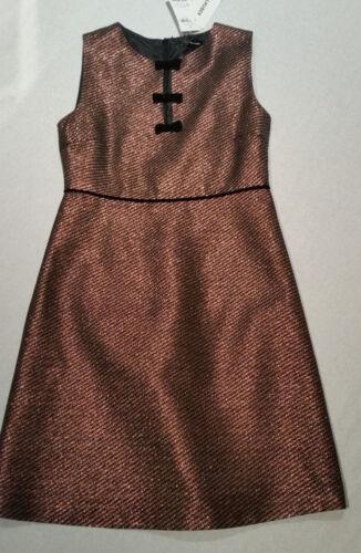 HALLHUBER Kleid rosenholz metalic Gr.40,42--UK12,14**NEU