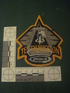 NASA-Patch-STS-89-Space-Shuttle-Tenth-Mission-Celebration-3-5-034-wide
